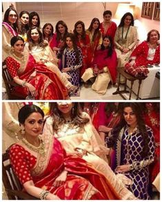 Sridevi and her girl gang look regal in this Karwa Chauth picture!