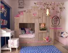 Little Girl Room Decor Ideas . 24 Awesome Little Girl Room Decor Ideas . Little Girls Bedroom Dream Rooms, Dream Bedroom, Girls Bedroom, Bedroom Ideas, Bedroom Inspiration, Bed Ideas, Decor Ideas, Sister Bedroom, Pretty Bedroom