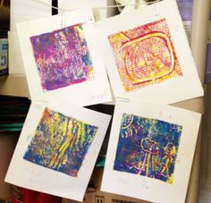 Printmaking with 4th and 5th Graders/ Eric Carle Museum Studio Blog