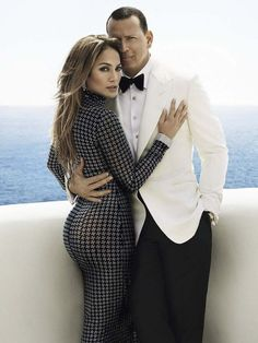 Jennifer Lopez and Alex Rodriguez are a luxury pair for Vanity Fair - Wedding J Lo Fashion, Fashion Couple, Fashion Outfits, Jennifer Lopez Photos, Couple Photography Poses, Photography Ideas, Celebs, Celebrities, Celebrity Outfits