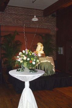 Stage for the Cake