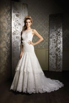 Gown by Alfred Angelo Sapphire