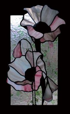 Glass Art Diy Things To Refferal: 6586181704 Stained Glass Quilt, Stained Glass Flowers, Faux Stained Glass, Stained Glass Designs, Stained Glass Panels, Stained Glass Projects, Stained Glass Patterns, Leaded Glass, Mosaic Art