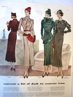 1930s McCalls
