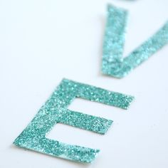 Ah give letters a glitter bath,from @Creature Comforts