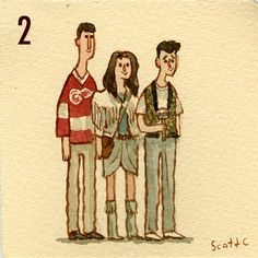 Ferris Bueller's Day Off 80s Movies, Film Movie, Farris Buellers Day Off, Movies Showing, Movies And Tv Shows, Breakfast Club, Ferris Bueller, Scott Campbell, Cool Drawings