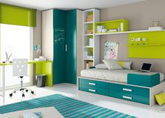 Dormitorio juvenil 069-KU2-020 de Singulárea