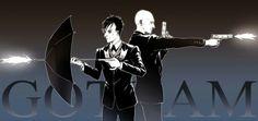 Oswald and Zsasz Gotham