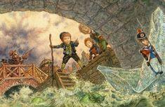 "The Brave Tin Soldier"" Hans Christian Andersen by Anton Lomaev. Ханс Кристиан Андерсен ""Стойкий оловянный солдатик"".Иллюстрации Антона Ломаева. - gerald_n"