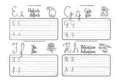Caligrafia para imprimir e caderno de caligrafia - Atividade Caligrafia - 9