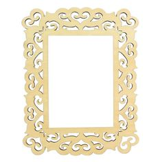 "ArtMinds™ Wooden Laser Cut Frame, Hearts 5"" x 7"" $3.99 @ Michaels"