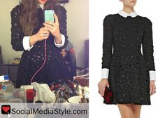 You can buy Sara Bareilles black dress from the 2014 People's Choice Awards here: http://rstyle.me/n/f5kus6fbn