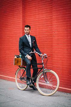 木の箱を付けるのが流行中。ニューヨークの旬な自転車スタイル