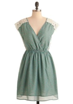Just got my Easter dress!  Love it with all the little bunnies!  :)
