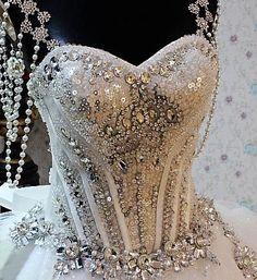 Wedding Dress Fantasy - Gypsy Wedding Dress 3, $4,850.00 (http://www.weddingdressfantasy.com/gypsy-wedding-dress-3/)