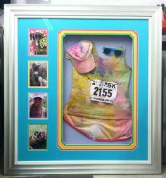 Color run memorabilia