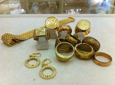 Beware of fake gold jewelry!