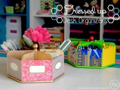 Easy To Make DIY Desk Organizers For A Clutter Free Workspace