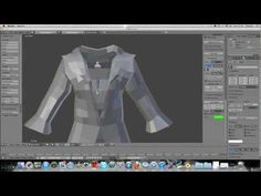 Cloth Pinning For Human Clothing. Blender 2.6