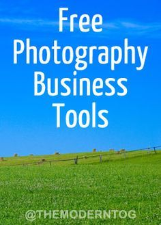 Free Photography Business Tools & Resources from The Modern Tog