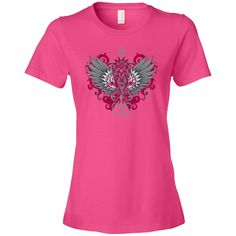 Make a strong impression for Brain Aneurysm Awareness with our stand-out tattoo style design on shirts, apparel and gifts featuring an awareness ribbon with swirl etchings attached to fighter wings with grunge elements for activism #BrainAneurysmawareness #BrainAneurysmribbon #BrainAneurysmtshirts