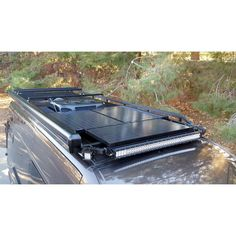 RB Components | Leader in Trailer, Shop and Garage Products Top rack + LED/Solar