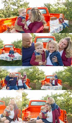 Fall Minis with a truck ~ Family Fall Mini Session Ideas ~ What to wear <3 Beautiful Fall Family Session ~ Apple Orchard Family Session ~ Niagara Family photographer ~ Gta Family Photographer