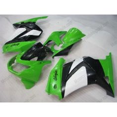 Kawasaki NINJA EX250 2007-2009 Injection ABS Fairing - Others - Green/Black | $659.00