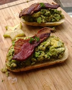 Green Eggs and Ham (Pancetta) - lollipopsicle