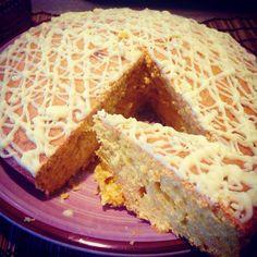 Torta di carote ecco il link che porta alla ricetta! http://ilmestoloverde.wordpress.com/2014/11/05/torta-di-carote/
