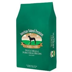 American Natural Premium Grain Free Duck & Pork - Dog Food - ~ You can see this great product. (This is an affiliate link and I receive a commission for the sales) Pork Recipes, Dog Food Recipes, Dry Dog Food, Dog Life, Grain Free, Pet Birds, Free Food, Natural, Grains