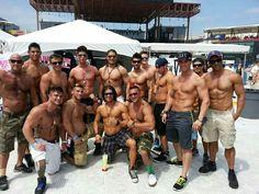 The men of LaBare at EdgeFest in Dallas. 2014 www.facebook.com/pages/LaBare-Dallas/46387966327 www.labaredallas.com