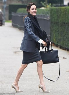 Stylish and smart business outfit