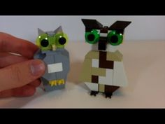 How To Build 2 LEGO Owls