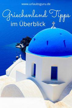 Wer einen Urlaub in Griechenland plant, kann von einer Gut-Wetter-Garantie im Sommer ausgehen. Doch das ist nicht der einzige Grund, warum wir dieses Land so gerne ansteuern. Sowohl die griechischen Inseln Kreta, Kos, Korfu, Santorin, Mykonos und Rhodos als auch das Festland überzeugen uns jedes Jahr aufs Neue. Um Griechenland auf einen Blick kennen zu lernen, habe ich euch einen Übersichtsartikel mit den besten Griechenland Tipps zusammengestellt. #greece #griechenland #urlaub #travel