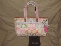 Coach Scribble Tote Bag Purse #Coach #TotesShoppers