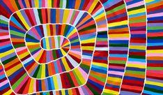 Aboriginal Artwork by Raelene Stevens. Sold through Coolabah Art on eBay