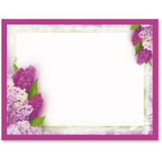 Sweet Lilacs Postcards | PaperDirect