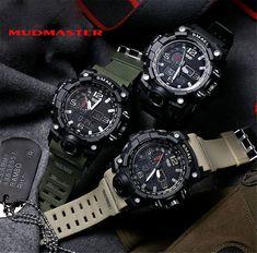 Spedizione Gratis Tactical Watch, Digital Wrist Watch, Timex Watches, Analog Watches, Men's Watches, Luxury Watches For Men, Watch Brands, Sport Watches, Smartwatch