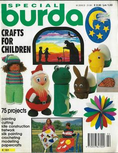 Projects For Kids, Crafts For Kids, Novelty Toys, Patterned Sheets, Magazines For Kids, Silk Painting, Kite, Christmas Holidays, Sew