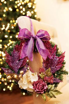 Guirlanda rápida - DIY, Christmas, Craft
