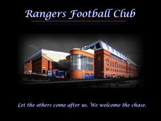 We welcome the chase.....