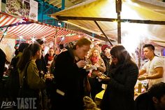 Streetfood Thursday at Markthalle Neun in Berlin, Germany