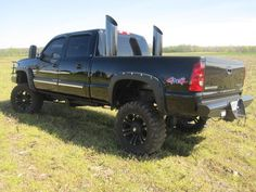 Lifted Chevy Trucks With Stacks Ford Wallpaper
