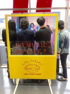 [Alexandros]2015/6/16 @タワレコ渋谷 メンバー全員でサイン、コメントをパネル全体に盛り沢山に書いて頂きました!