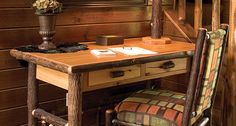 Located in the Northern Minnesota Lakes Area, Fireside Lodge Furniture is your premier destination for rustic furniture. Lodge Furniture, Rustic Furniture, Cabin Interiors, Furniture Making, Entryway Tables, Usa, Room, Home Decor, Bedroom