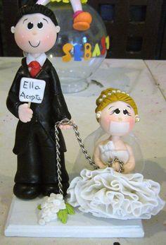 pastel de bodas - Buscar con Google                                                                                                                                                      Más Funny Wedding Cakes, Amazing Wedding Cakes, Wedding Humor, Wedding Signs, Our Wedding, Dream Wedding, Flower Girl Signs, Prince Charmant, Wedding Cake Designs