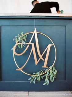 A Vineyard Wedding In Niagara-On-The-Lake With Peach Details Wedding Logo Design, Wedding Fonts, Wedding Designs, Wedding Cards, Diy Wedding Logo, Wedding Initials, Monogram Wedding, Wedding Monograms, Initial Decor