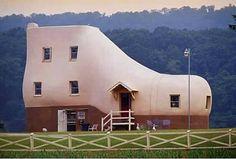 Shoe House, Hellam, Pennsylvania, USA
