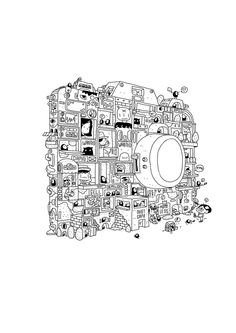 Camera Tower by 3LAND, via Behance